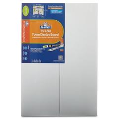 Elmer's CFC-Free Polystyrene Foam Premium Display Board, 24 x 36, White, 12/Carton