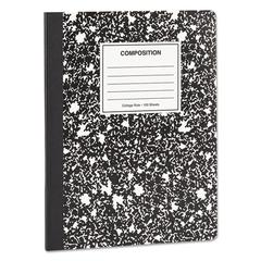 Composition Book, College Rule, 9 3/4 x 7 1/2, White, 100 Sheets