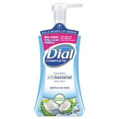 Dial Antibacterial Foaming Hand Wash, Coconut Waters, 7.5 oz Pump Bottle
