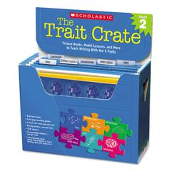 Scholastic Trait Crate, Grade 2, Six Books, Learning Guide, CD, More