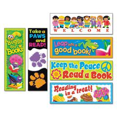 Bookmark Combo Packs, Celebrate Reading Variety #1, 2w x 6h, 216/Pack