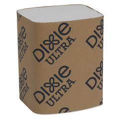 """Interfold Napkin Refills Two-Ply, 6 1/2"""" x 9 7/8"""", White, 6000/Carton"""