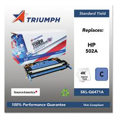 751000NSH0296 Remanufactured Q6471A (502A) Toner, Cyan