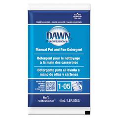 Manual Pot & Pan Dish Detergent, Original Scent, 1.5 oz Packet, 120/Carton