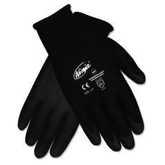 Memphis Ninja HPT PVC coated Nylon Gloves, Small, Black, Pair