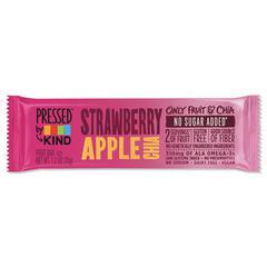 Pressed by KIND Bars, Strawberry Apple Chia, 1.2 oz Bar, 12/Box