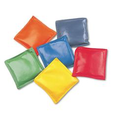 "s Bean Bag Set, Vinyl, 4"", Assorted Colors, Dozen"