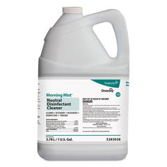 Morning Mist Neutral Disinfectant Cleaner, Fresh Scent, 1gal Bottle