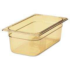 Hot Food Pan, 4qt, 6 7/8w x 12 4/5d x 4h, Amber