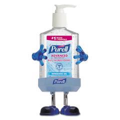 Pal Instant Hand Sanitizer Desktop Dispenser w/8oz Pump Bottle, 3wx3 1/2dx8 1/2h