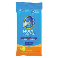 Multi-Surface Cleaner Wet Wipes, Cloth, 7 x 10, 25/Pack, 12/Carton