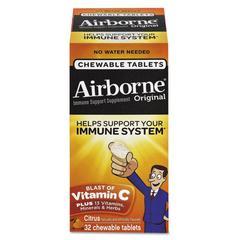 Immune Support Chewable Tablet, Citrus, 32 Count