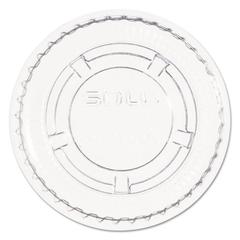 Portion/Soufflé Cup Lids. Fits .5-1oz Cups, Clear, 2500/Carton