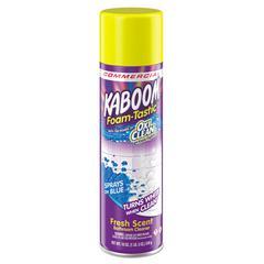 Foamtastic Bathroom Cleaner, Fresh Scent, 19 oz Spray Can, 8/Carton