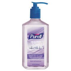 Healthy Soap, Fresh Botanicals Scent, 12 oz Pump Bottle, 6/Pack
