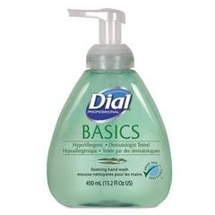 Basics Foaming Hand Soap, Original, Honeysuckle, 15.2 oz Pump Bottle, 4/Carton