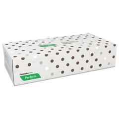 Perform Facial Tissue, 2-Ply, Beige, 100 Sheets/Box, 30 Boxes/Carton