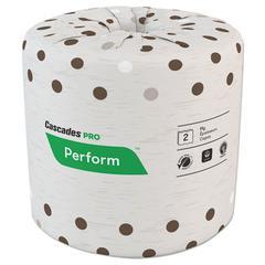 Select Standard Bath Tissue, 2-Ply, White, 4 1/4 x 4, 400/Roll, 80/Carton