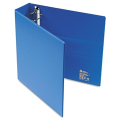 """Heavy-Duty Binder with One Touch EZD Rings, 11 x 8 1/2, 2"""" Capacity, Blue"""