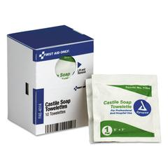 Refill f/SmartCompliance General Business Cabinet, Castile Soap Wipes,5x7,10/Bx