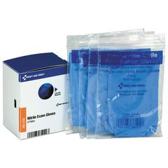 Refill for SmartCompliance General Business Cabinet, Nitrile Exam Gloves, 4Pr/Bx