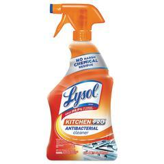 Kitchen Pro Antibacterial Cleaner, Citrus Scent, 22 oz Spray Bottle, 9/CT