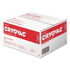 "Cryovac One Gallon Storage Bag Dual Zipper, Clear, 10 1/2"" x 10 15/16"", 250/CT"