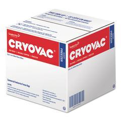 "Cryovac One Quart Freezer Bag Dual Zipper, Clear, 7"" x 7 15/16"", 300/CT"