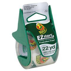 "EZ Start Carton Sealing Tape/Dispenser, 1.88"" x 22.2yds, 1 1/2"" Core"