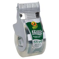 """E-Z Start Premium Packaging Tape w/Dispenser, 1.88"""" x 55.5yds"""