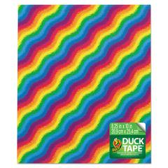 Tape Sheets, Rainbow, 6/Pack