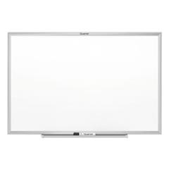 Classic Series Melamine Whiteboard, 48 x 36, Silver Aluminum Frame