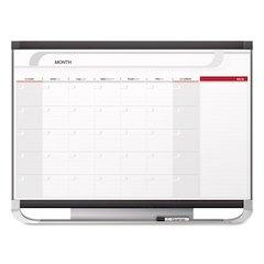 Prestige 2 Total Erase Monthly Calendar, 48 x 36, Graphite Color Frame