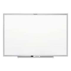 Classic Series Melamine Whiteboard, 60 x 36, Silver Aluminum Frame