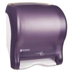 Smart Essence Electronic Roll Towel Dispenser, 14.4hx11.8wx9.1d, Black, Plastic
