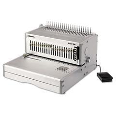 Orion 500 Electric Comb Binding Machine, 500 Shts, 15 3/4 x 19 3/4 x 9 3/4, Gray