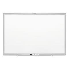 Classic Series Melamine Whiteboard, 36 x 24, Silver Aluminum Frame