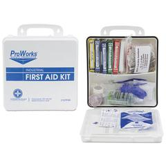 ProWorks First Aid Kit, 50 Person, 290 Pieces, 9 3/4 in x 14 in x 2 3/4 in