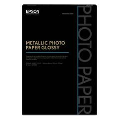 Professional Media Metallic Photo Paper Glossy, White, 13 x 19, 25 Sheets/Pack