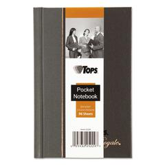 Royale Business Casebound Notebook, Legal/Wide, 5 1/2 x 3 1/2, 96 Sheets