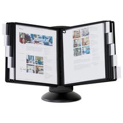 SHERPA Motion Desk Reference System, 10 Panels, Black Borders