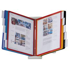 InstaView Expandable Desktop Reference System with Assorted Borders, 10 Panels