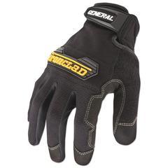 General Utility Spandex Gloves, Black, X-Large, Pair