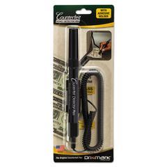 Smart-Money Counterfeit Bill Detector Pen w/Coil & Clip