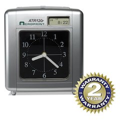Model ATR120 Analog/LCD Automatic Time Clock