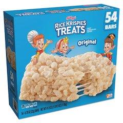 Rice Krispies Treats, Original Marshmallow, 0.78oz Pack, 54 per Carton
