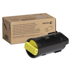 106R04008 Extra High-Yield Toner, 16800 Page-Yield, Yellow, TAA Compliant