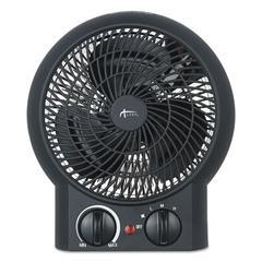 """Heater Fan, 8 1/4"""" x 4 3/8"""" x 9 3/8"""", Black"""
