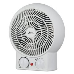 "Heater Fan, 8 1/4"" x 4 3/8"" x 9 3/8"", White"