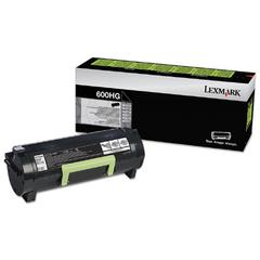 60F0H0G High-Yield Toner, 10000 Page-Yield, Black